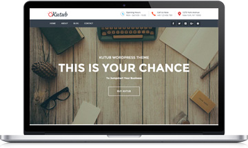 Free Responsive Multi Purpose WordPress Theme – Kutub