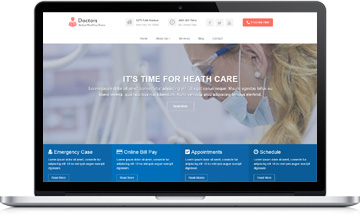 Free Medical WordPress Theme – Doctors